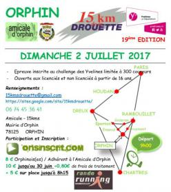 15 kms de la Drouette